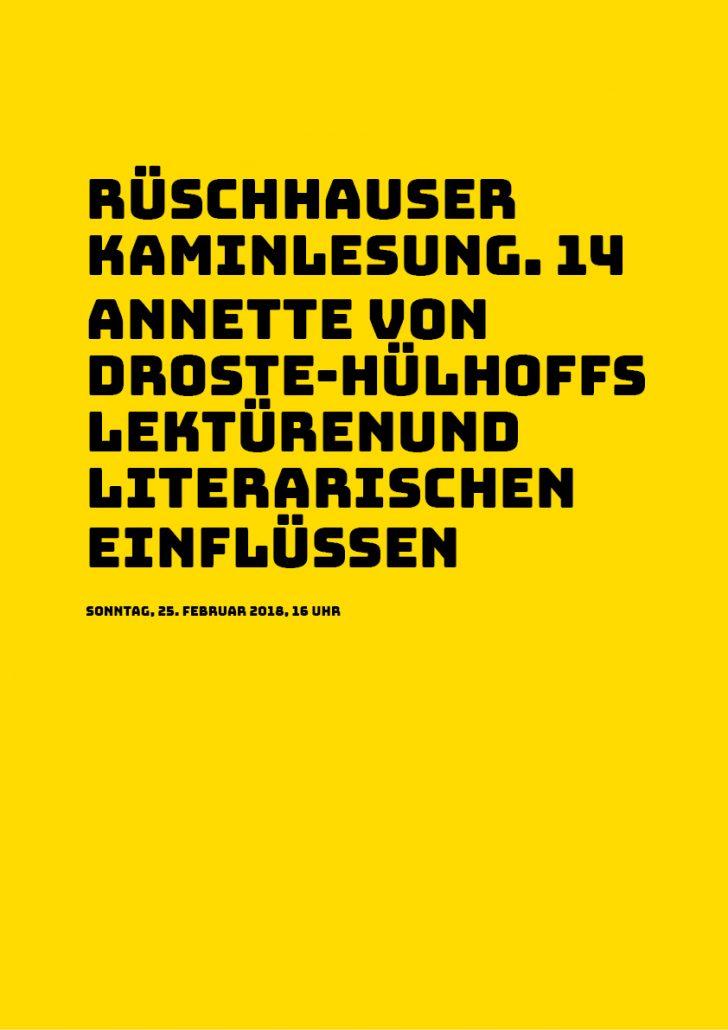 Rüschhauser Kaminlesung. 14